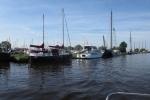Mit dem Hausboot durch Friesland - Akkrum
