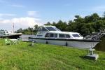 Mit dem Hausboot durch Friesland - Liegeplatz für die Nacht