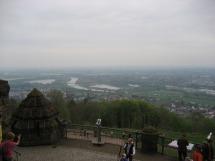 Porta Westfalica - Blick nach Norden