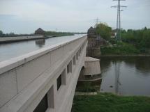 Kanalbrücke über die Weser