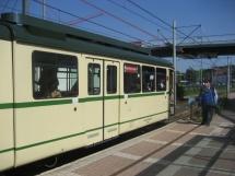 Historische Straßenbahn in Hattingen
