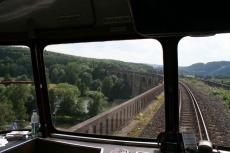 Teckel - Ruhr-Viadukt in Herdecke (Rückfahrt)