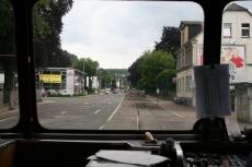 Teckel - unterwegs an der B7 in Gevelsberg