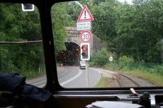 Teckel - Einfahrt in den Kruiner Tunnel