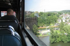 Teckel - Ruhr-Viadukt in Herdecke (Hinfahrt)
