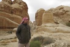 Jordanien - Adnan, unser Reiseleiter