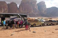 Jordanien – Umsteigen auf die Jeeps