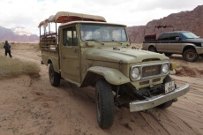 Jordanien – Pickup im Wadi Rum