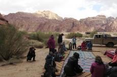 Jordanien – Picknick im Wadi Rum