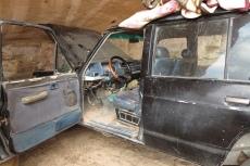 Jordanien – unser Begleitfahrzeug im Wadi Rum