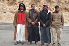 Jordanien – unser Begleitteam im Wadi Rum