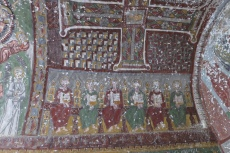 Kappadokien: Deckenmalerei in einer Felsenkirche