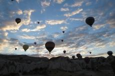 Kappadokien: Ballone über Kappadokien