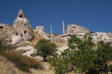 Kappadokien: Höhlenwohnungen in Uçhisar