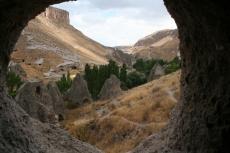 Kappadokien: Blick aus der Felsenkirche