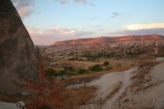 Kappadokien: Sonnenuntergang über dem Rosental