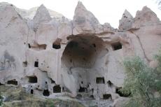 Kappadokien: Gashöhle in Zelve