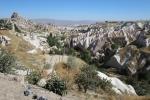 Kappadokien: Uçhisar mit Taubental