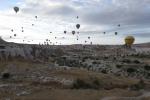 Kappadokien: Etwa 70 Ballone waren unterwegs
