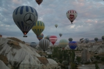 Kappadokien: Ballone über dem Rosental