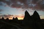 Kappadokien: Sonnenuntergang über Göreme