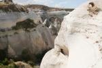 Kappadokien: Tiefer Canyon
