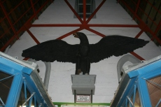 Preussischer Adler im Dachstuhl des Doms