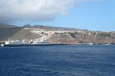 La Gomera: Kurz vor dem Hafen von San Sebastian