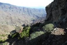 La Gomera: Hoch über La Laja