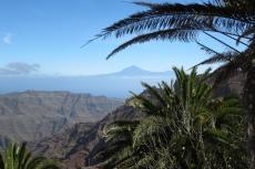 La Gomera: Blick auf Teneriffa mit dem Teide