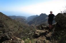La Gomera: Auf schmalem Pfad ins Tal