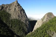 La Gomera: Wolken über dem Inselnorden