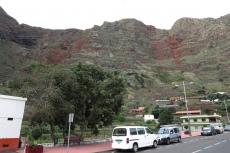La Gomera: Steilwand bei Agulo
