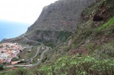 La Gomera: Agulo aus halber Höhe