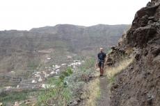 La Gomera: Mal ein flaches Wegstück
