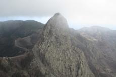La Gomera: Der Roque de Agando zeigte sich nur hin und wieder