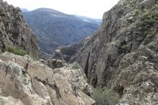 La Gomera: Zerklüftete Landschaft