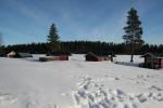 Lapplands Drag – Husky Expedition: Die Gästehütten