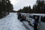 Lapplands Drag – Husky Expedition: Reifenpanne #2
