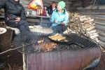 Lapplands Drag – Husky Expedition: Grillen am Windschutz