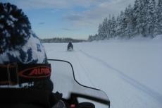 Lapplands Drag: Mit ordentlich Speed über den Fluss