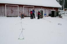 Lapplands Drag: Die Zugleine liegt bereit