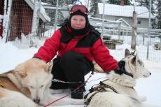 Lapplands Drag: Streicheleinheiten nach der Tour