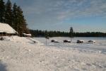 Lapplands Drag: Direkt am Flussufer