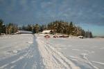 Lapplands Drag: Lapplands Drag vom zugefrorenen Fluss
