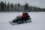 Lapplands Drag: Die Handschuhe hatte ich nur während der Fotopause ausgezogen
