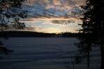 Lapplands Drag: Blick vom Grillplatz