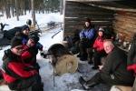 Lapplands Drag: Gemütlicher Grillplatz