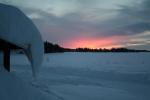 Lapplands Drag: Noch ein toller Sonnenaufgang