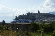 Liparische Inseln - Blick von der Terrasse